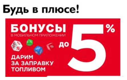 Бонусные программы лояльности от заправок-партнеров от Совкомбанка