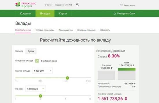 Номер телефона банка ренессанс кредит
