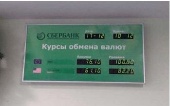 Сбербанк обмен валют