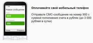 Как пополнить счет телефона с карты Сбербанка
