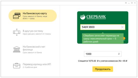 Сколько можно перевести с карты Сбербанка