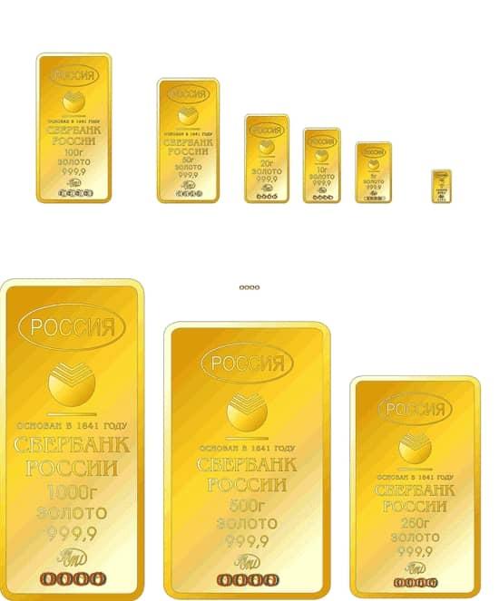 Чем выгодна покупка золота в Сбербанке
