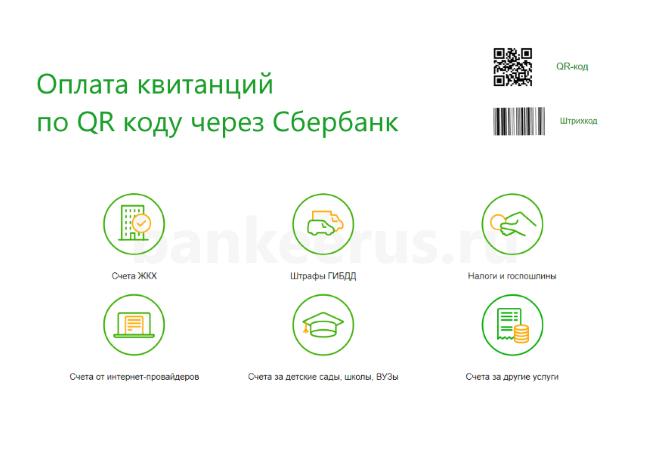 Как оплатить по штрих коду/QR-коду через Сбербанк без телефона