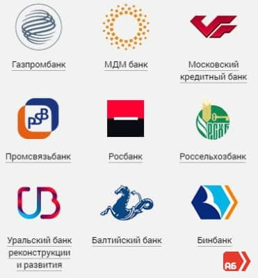 С кем сотрудничает Альфа-Банк России