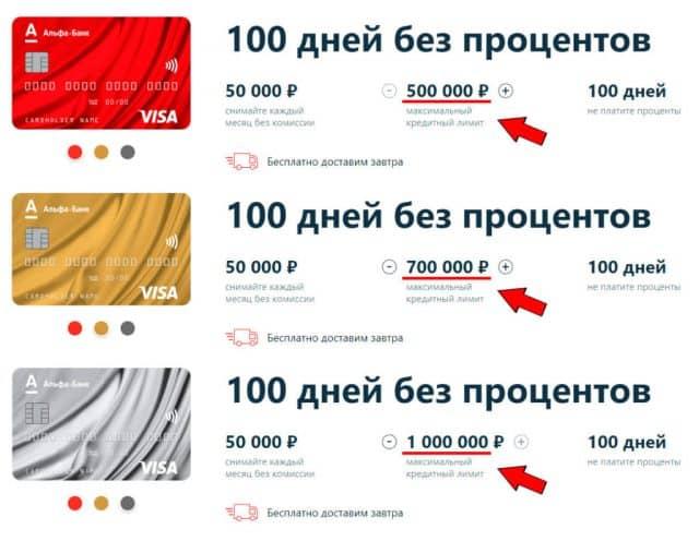 Личное приглашение от Альфа-Банка об увеличении кредитного лимита