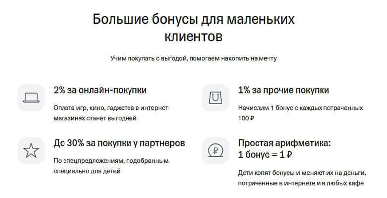 Лимиты по картам Тинькофф Джуниор