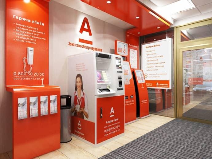 Оплата займа Альфа банка в кассе офиса