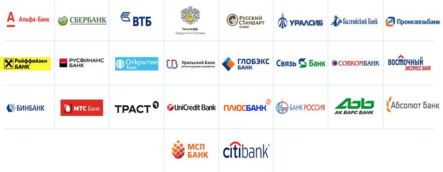 Перечень банков-партнеров Россельхозбанка