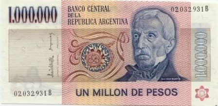 Борьба с инфляцией в Аргентине с помощью валютного регулирования (1991 г.)