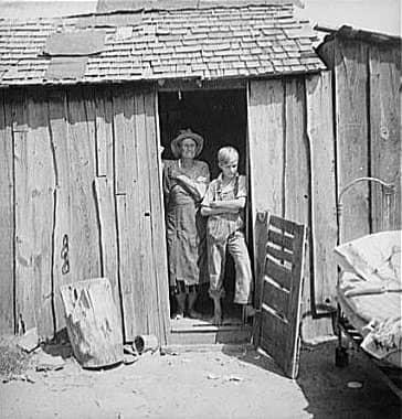 Уничтожение продовольствия во время Великой депрессии 1930-х в США