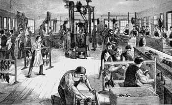 За сто лет после начала промышленной революции население Англии утроилось