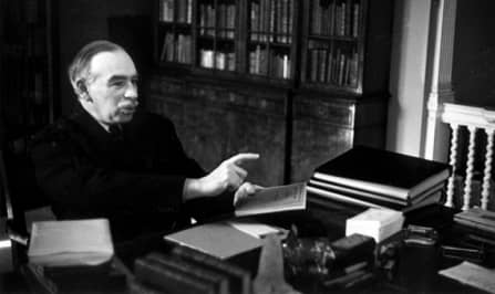 Дж.М.Кейнс против Ф.А.Хайека: дискуссия в стиле рэп