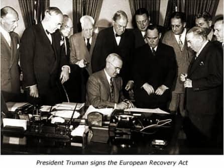 Экономические причины реализации плана Маршалла (1948-1951 гг.)