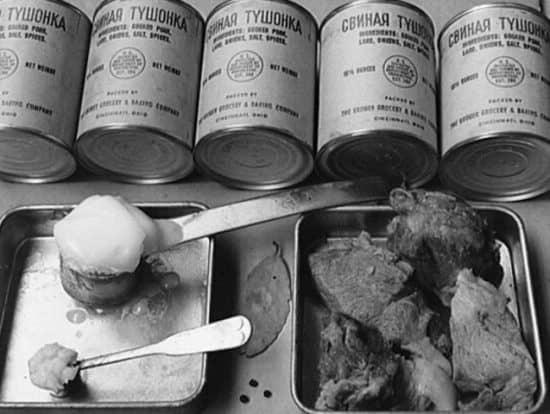 82% банок тушенки в СССР во время Второй мировой войны были из США