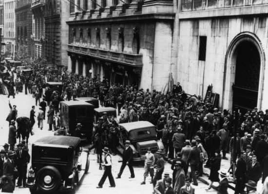 Маржинальные займы и биржевой крах 1929 года в США