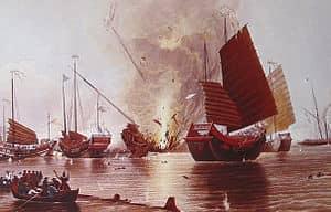Торговый дефицит Великобритании в 18-19 вв. и опиумные войны