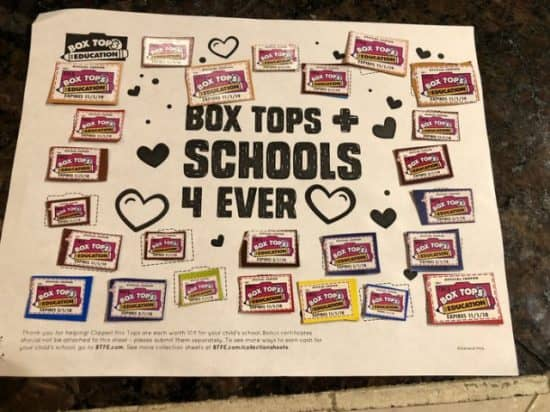 Сбор средств на школьные нужды в американских школах