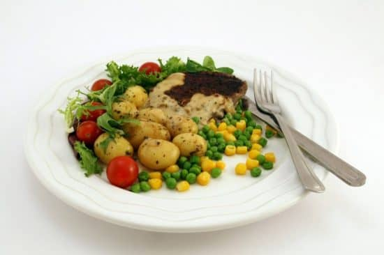 Аппетит и размер тарелки