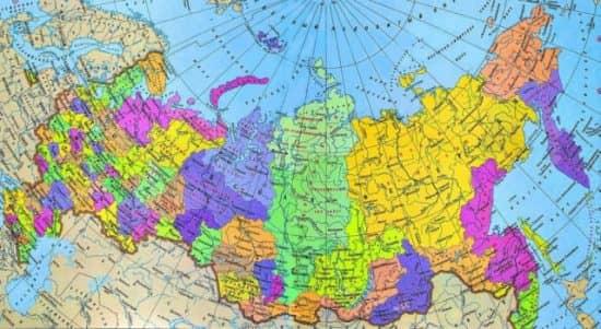 Неравномерность расселения населения в России