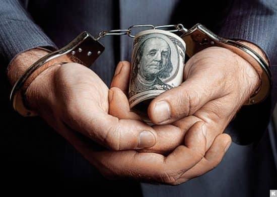 Ежегодный объем всех взяток в мире равен примерно 1 трлн долларов