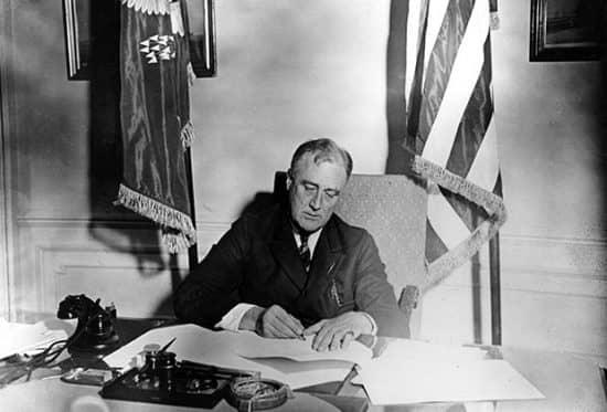 Конфискация золота в США во время Великой депрессии
